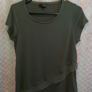 ♠️The Limited Olive green layered tee♠️